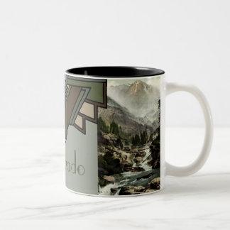 Aspen, soporte de Colorado de la cruz santa Tazas De Café