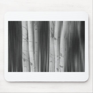 Aspen Tree Colonies Dreaming BW Mousepads