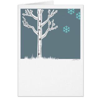 Aspen Tree Greeting Card