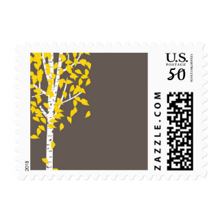 Aspen Tree Postage Stamp