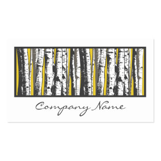 aspen trees business card