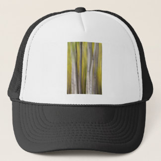 Aspen Trees in Autumn Color Portrait Dreaming View Trucker Hat
