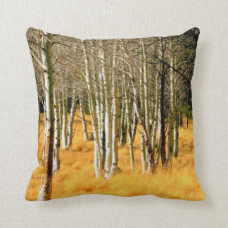 aspen trees pillow