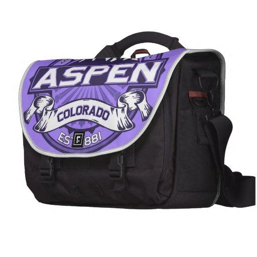 Aspen Violet Laptop Bag