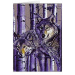 Aspen Wolves Greeting Card