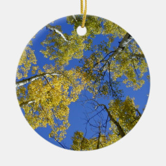 Aspens from Below ornament