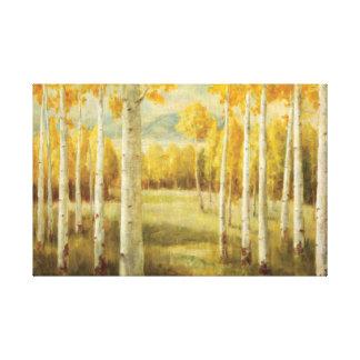 Aspens in Autumn Gallery Wrap Canvas