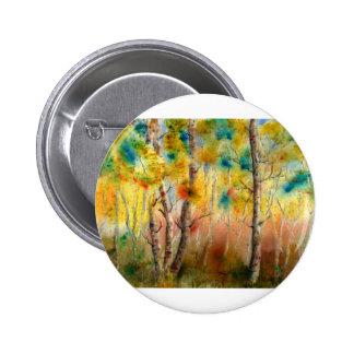 Aspens in Fall Button