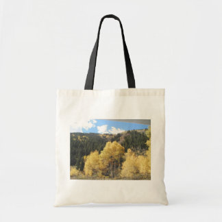 Aspens In Fall, On Shultz Pass Road Near Flagstaff Tote Bags