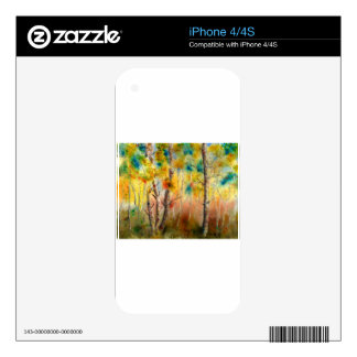 Aspens in Fall Skin For iPhone 4S