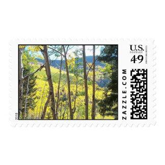 aspens of santa Fe Postage Stamps