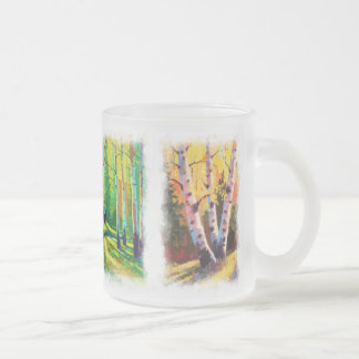 Aspens Paintings Glass Mug