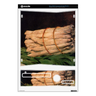 Asperagus by Edouard Manet Decals For Xbox 360 S