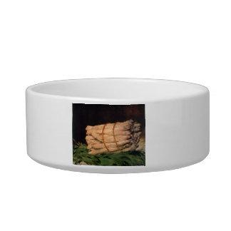 Asperagus by Edouard Manet Cat Food Bowl