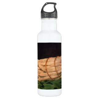 Asperagus by Edouard Manet Stainless Steel Water Bottle