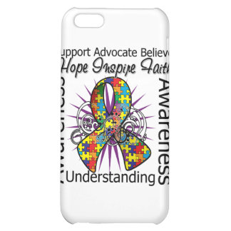 Asperger Syndrome Inspirations Spiral Ribbon iPhone 5C Cover