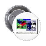 Asperger y botón bipolar pins