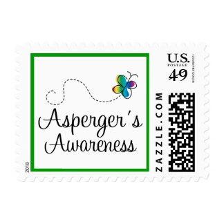 Asperger's Awareness Autism Stamps