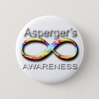 Aspergers Awareness Pinback Button