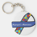 Asperger's Awareness Ribbon Key Chains