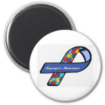 Asperger's Awareness Ribbon Magnet