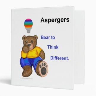 Aspergers Bear Binder
