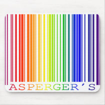 Asperger's Code Mouse Pad