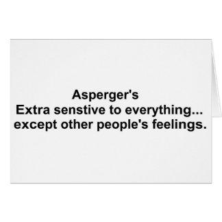 Asperger's gear card
