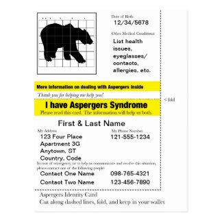 Aspergers Information Card v.2.0