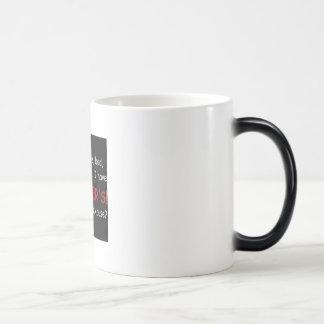Aspergers Mug.. 11 Oz Magic Heat Color-Changing Coffee Mug