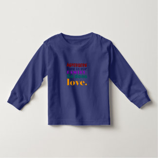 Aspergers Runs in Our Family So Does Love Toddler T-shirt