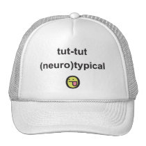 Aspergers Syndrome Awareness cap neuro-typical Trucker Hat