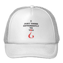 Aspergers Syndrome Awareness outside the box Cap Trucker Hat