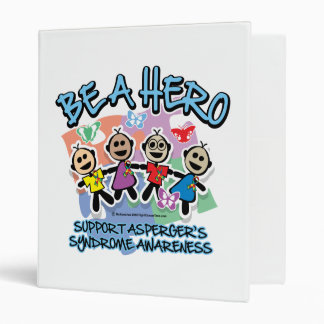 Asperger's Syndrome Be A Hero Binder