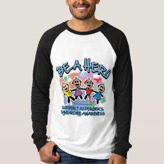 Asperger's Syndrome Be A Hero Shirt