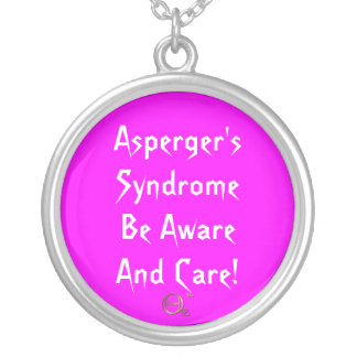 Asperger's Syndrome Be Aware and Care! Necklaces