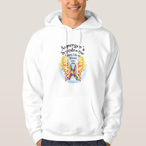 Asperger's Syndrome Butterfly 3 Hoodie