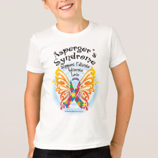 Asperger's Syndrome Butterfly 3 T-Shirt