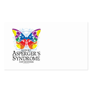 Asperger's Syndrome Butterfly Business Cards