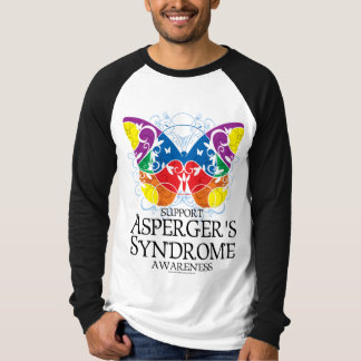 Asperger's Syndrome Butterfly Shirt
