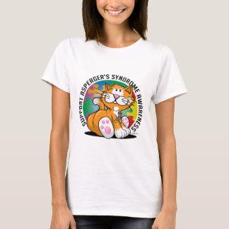 Asperger's Syndrome Cat T-Shirt