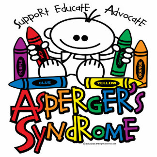 Asperger's Syndrome Crayons Cutout