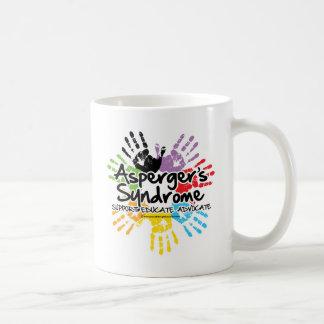 Asperger's Syndrome Handprint Coffee Mug