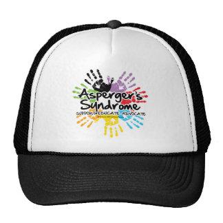 Asperger's Syndrome Handprint Trucker Hat