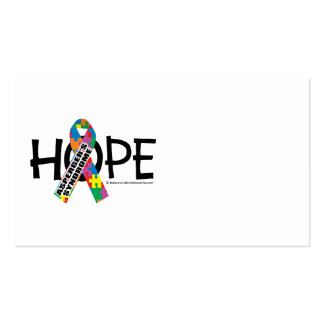 Asperger's Syndrome Hope Business Cards