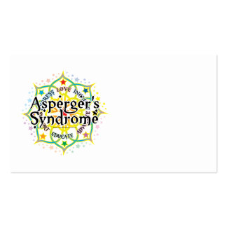 Asperger's Syndrome Lotus Business Card Templates