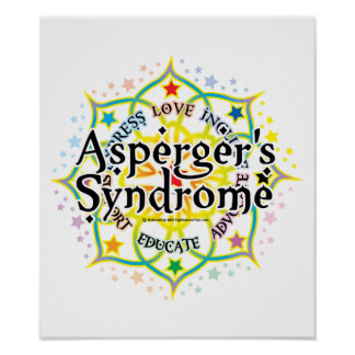 Asperger's Syndrome Lotus Poster