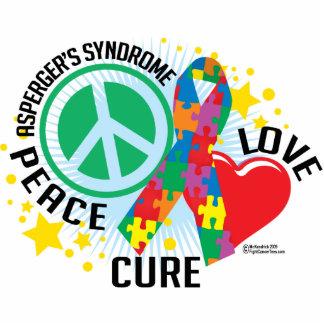 Asperger's Syndrome PLC Standing Photo Sculpture
