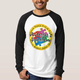 Asperger's Syndrome Puzzle Pin Tee Shirt