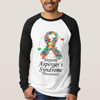 Asperger's Syndrome Ribbon of Butterflies T-shirt